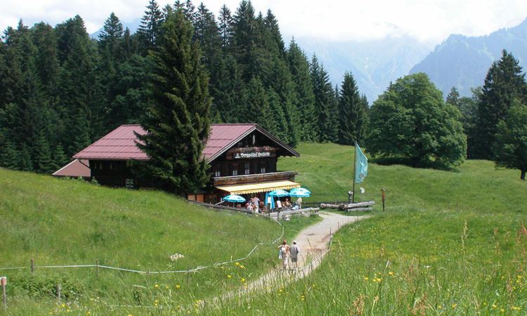 Berghütte Hochleite  in Oberstdorf