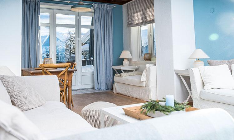 Ferienwohnung Blaues Haus in Oberstaufen