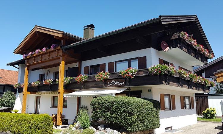 Ferienwohnungen Haus Sonnenkopf in Oberstdorf