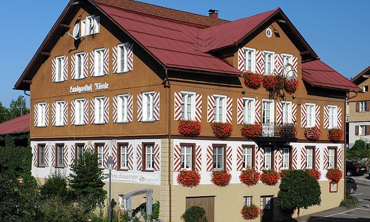 Hotel Rössle in Stiefenhofen