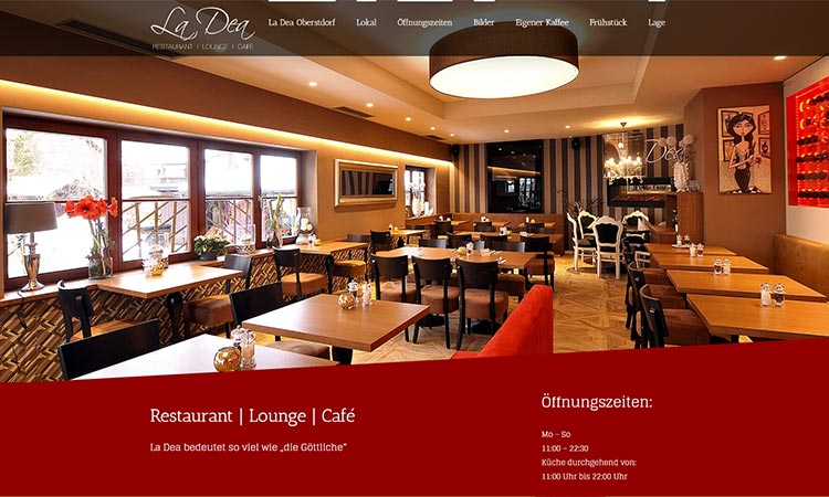 Restaurant La Dea in Oberstdorf